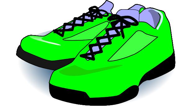 bright green tennis shoes clip art at clker com vector clip art rh clker com tennis shoes clipart black and white tennis shoes clipart free