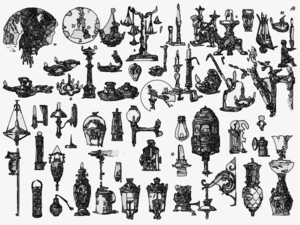 Antiques Collection Clip Art