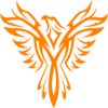 Phoenix Orange Clip Art