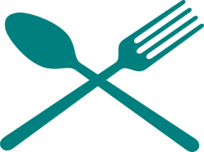 Fork And Spoon Cross Clip Art