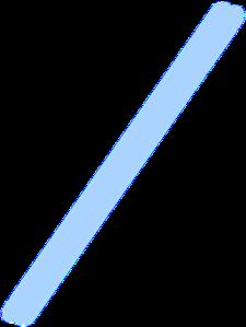 blue straw clip art at clkercom vector clip art online