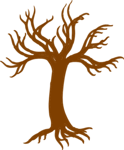 Tree Roots Larger Clip Art