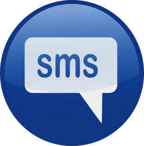 blue sms icon by ocal 6 5 10 13 download easy embed in a