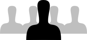 Group People Silhouette Clip Art