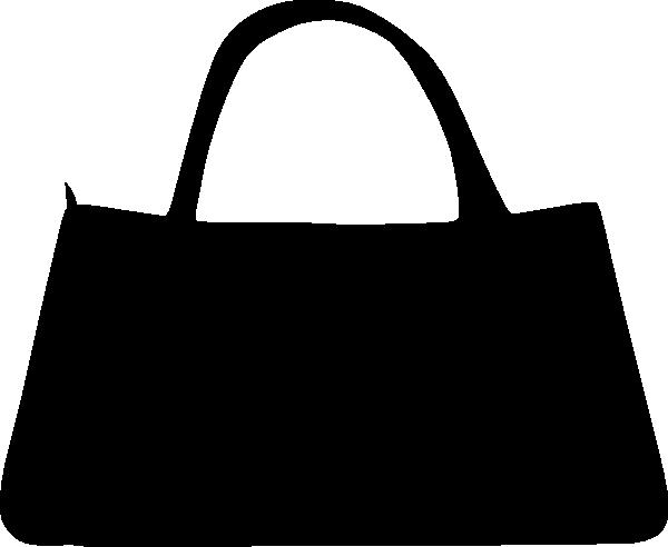 Black Purse Clip Art at Clker.com - vector clip art online ... Purse Clipart Black And White