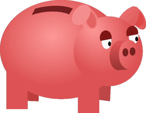 piggy bank clip art at vector clip art online