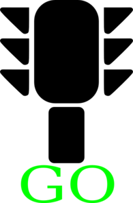 Green Traffic Light 2 Clip Art