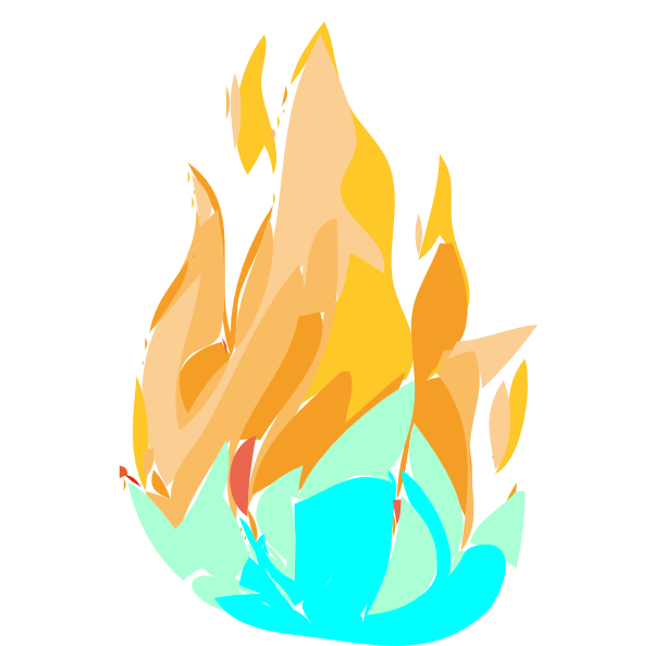 Fire And Ice Clip Art at Clker.com - vector clip art ...