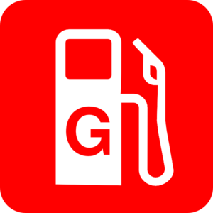 Gas Red Clip Art