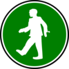 Walking Icon Clip Art