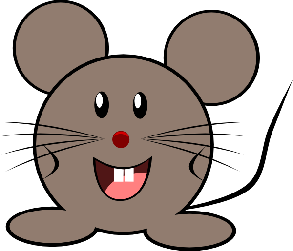 Mouse clip art at vector clip art online for Field mouse cartoon