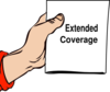 Extened Coverag Clip Art