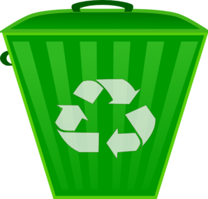 Recycle Trash Can Clip Art