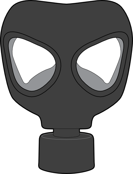 gas mask clip art at clker com vector clip art online royalty rh clker com cartoon gas mask gas mask cartoon images