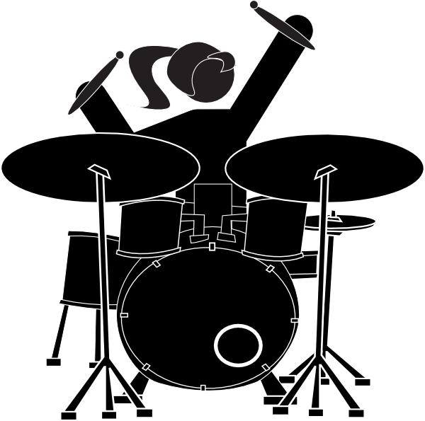 Girl Drummer Clip Art at Clker.com - vector clip art online, royalty free & public domain