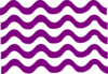 Purple Wave Lines Clip Art