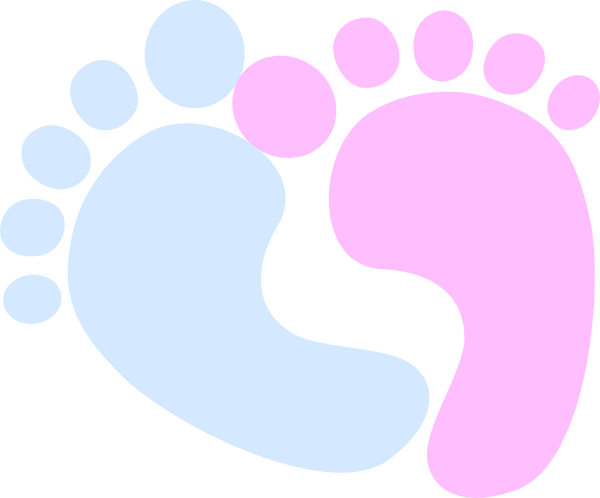 Baby Loss Feet Clip Art at Clker.com - vector clip art ...