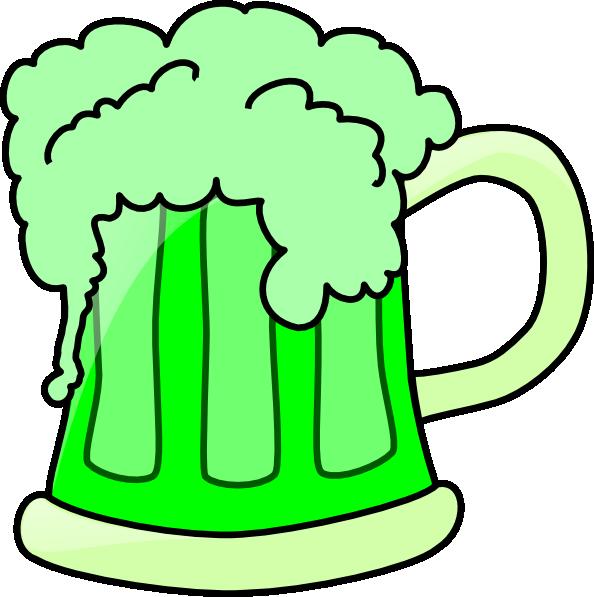 Green Beer Clip Art at Clker.com - vector clip art online ...
