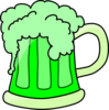 Green Beer  Clip Art