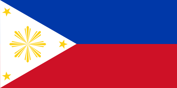 Philippine Flag Vector Template Clip Art at Clker.com - vector clip ...