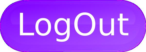 Logout Button Purple Clip Art at Clker.com - vector clip art online ...