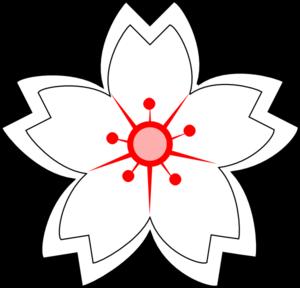 Flower Drawing Clip Art at Clkercom vector clip art online