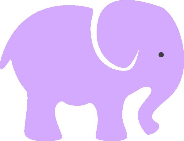 Purple Elephant Clip Art at Clker.com - vector clip art online ...
