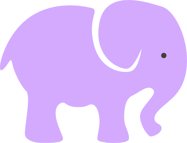 clip art pink elephant - photo #46