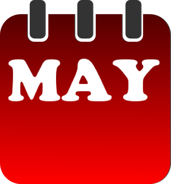 Calendar Clip Art May : May calendar clip art at clker vector