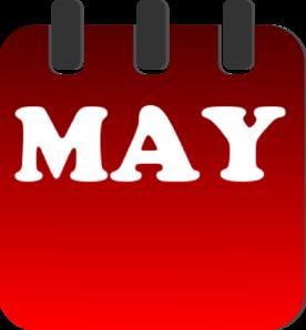 May Calendar Clip Art at Clker.com - vector clip art online, royalty ...