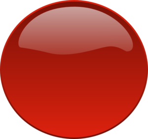 Smaller Red Button Clip Art