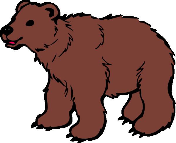 brown bear clip art at clker com vector clip art online royalty rh clker com brown bear book clipart brown bear clipart images
