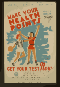 Make Your Health Points--get Your Test Now  / Kreger. Clip Art