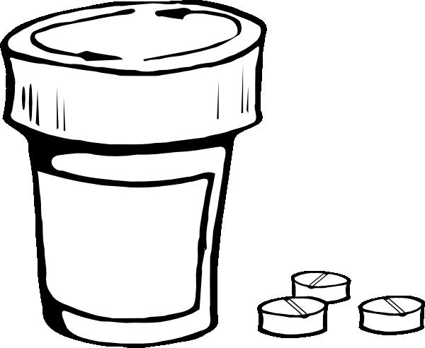 large prescription bottle clip art at clker com vector clip art rh clker com clipart prescription bottle prescription clipart black and white