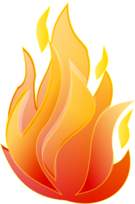Clean Fire Clip Art