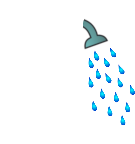 Bathroom shower hose - Showerhead Clip Art At Clker Com Vector Clip Art Online