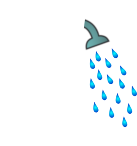 Clip Art That Save Water Shower Heads