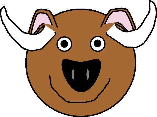 bull  ox clip art at clker com vector clip art online Cartoon Oxen oven clipart image