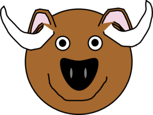 bull ox clip art at clker com vector clip art online royalty rh clker com ox clipart images ox clipart free