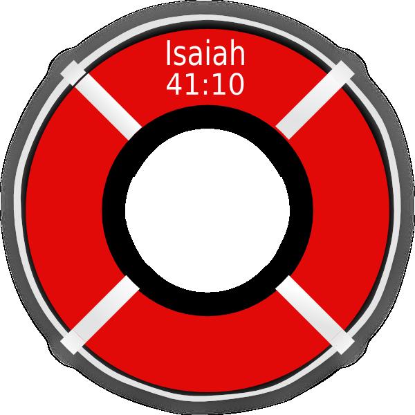 Isaiah Life Preserver Clip Art at Clker.com - vector clip art online ...