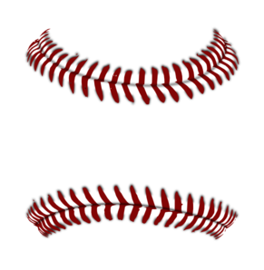 Red Baseball 2 Clip Art