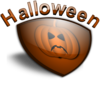 Halloween Shield Clip Art