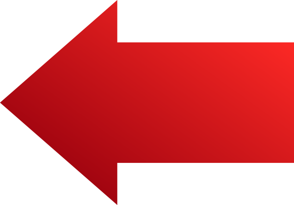 red left arrow clip art at clkercom vector clip art