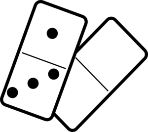 Falling Dominoes Clip Art