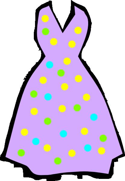 Purple Dress Clip Art at Clker.com - vector clip art ...