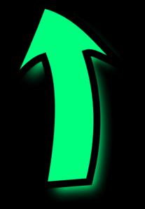 Green Comic Arrow Clip Art at Clker.com - vector clip art ...