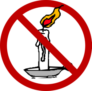 No Candle Clip Art