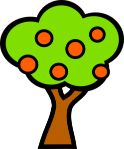 Fruit Trees Clip Art