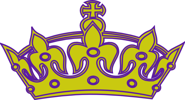 Gold/purple Keep Calm Crown Clip Art at Clker.com - vector ...