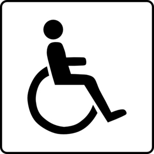 Hotel Icon Accessible Clip Art